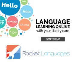 Rocket Languages - Language Learning Online with Your Library Card